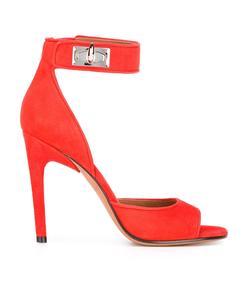 red 'shark' sandal
