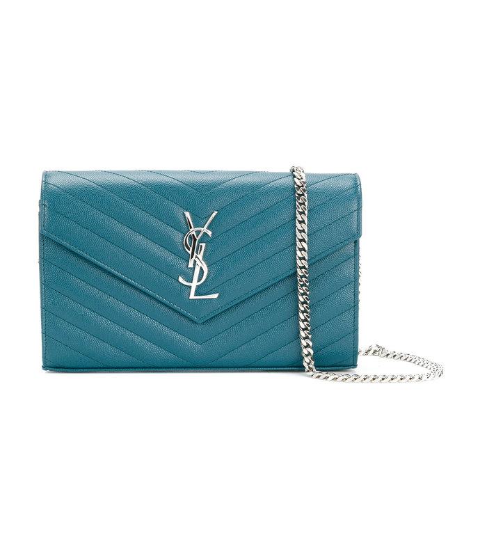 blue lou lou shoulder bag