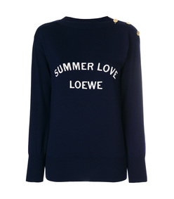 summer love knitted sweater