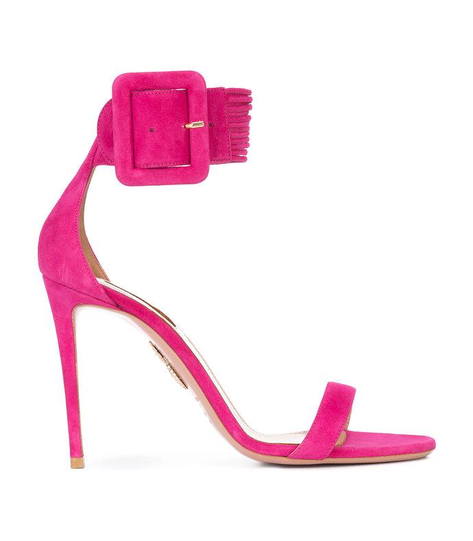 pink casablanca sandals