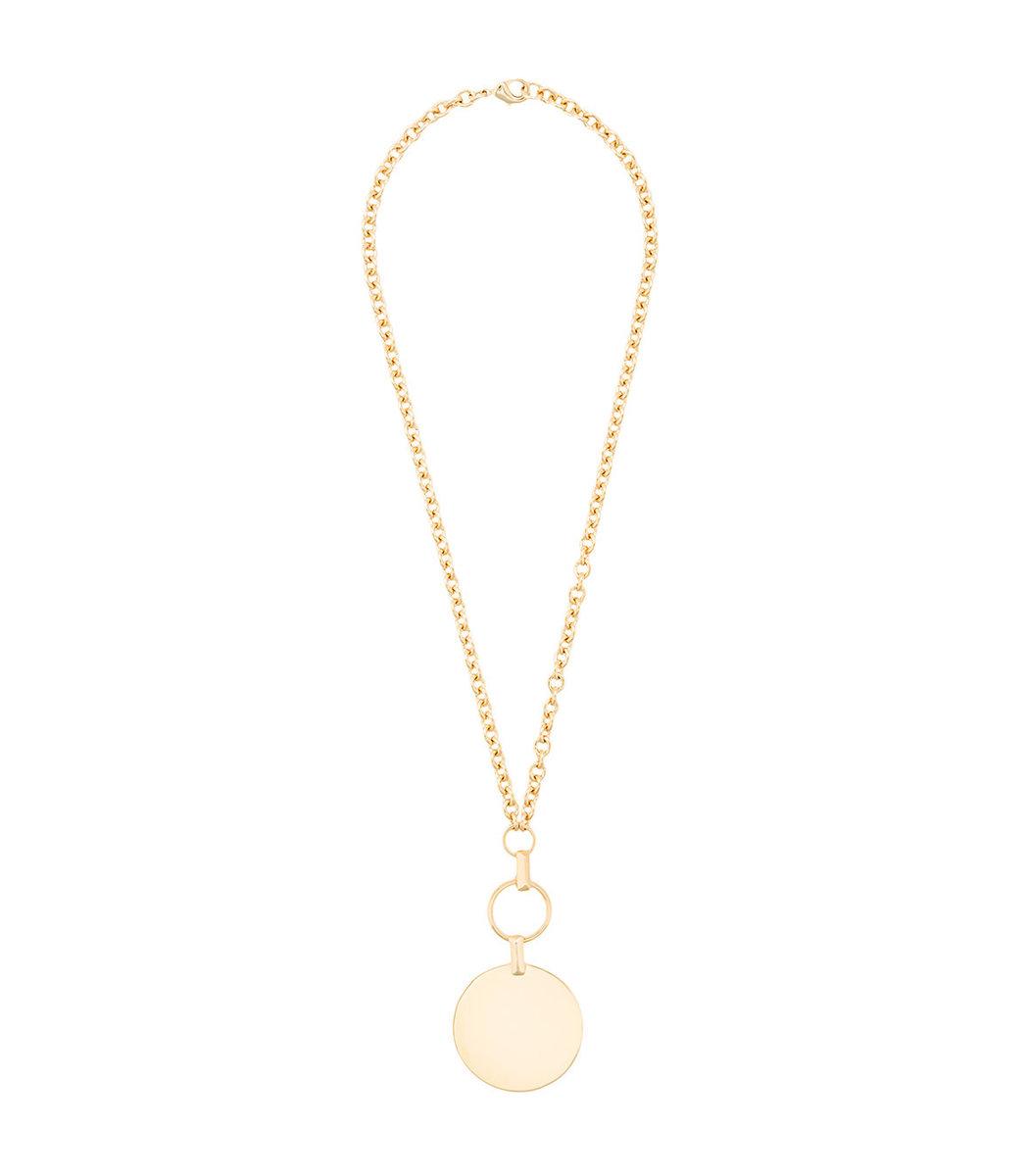 Eddie Borgo Token Pendant Necklace