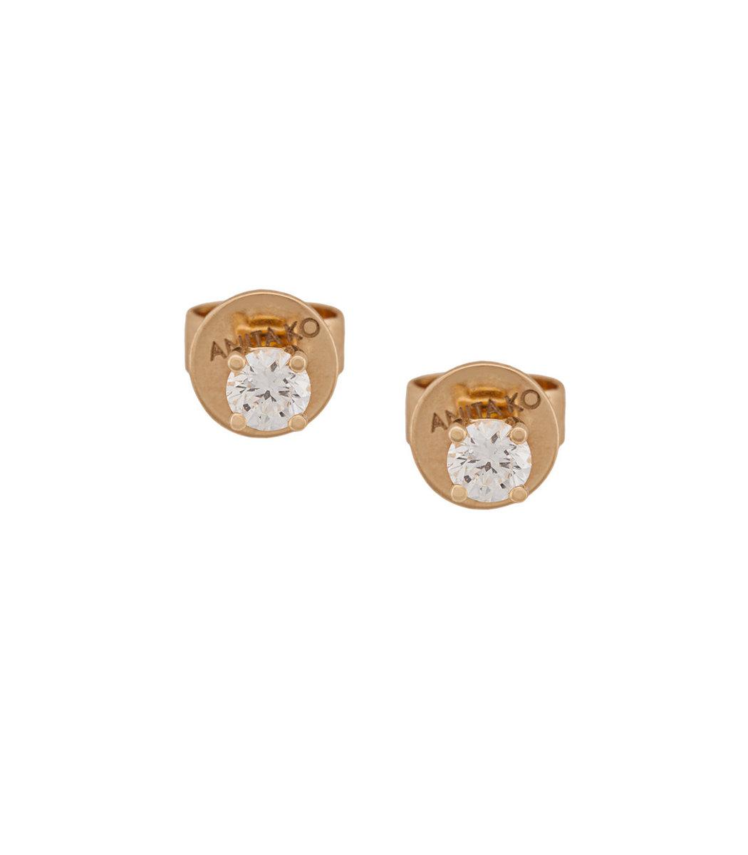 Anita Ko Gold Diamond Studs Earrings