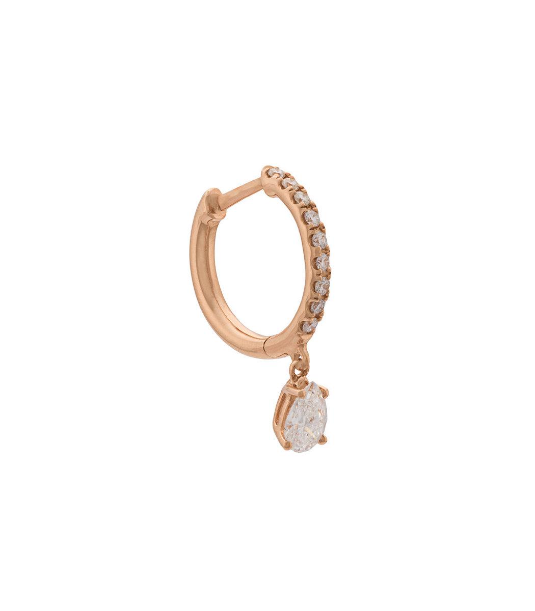 Anita Ko Gold Diamond Huggies Earring