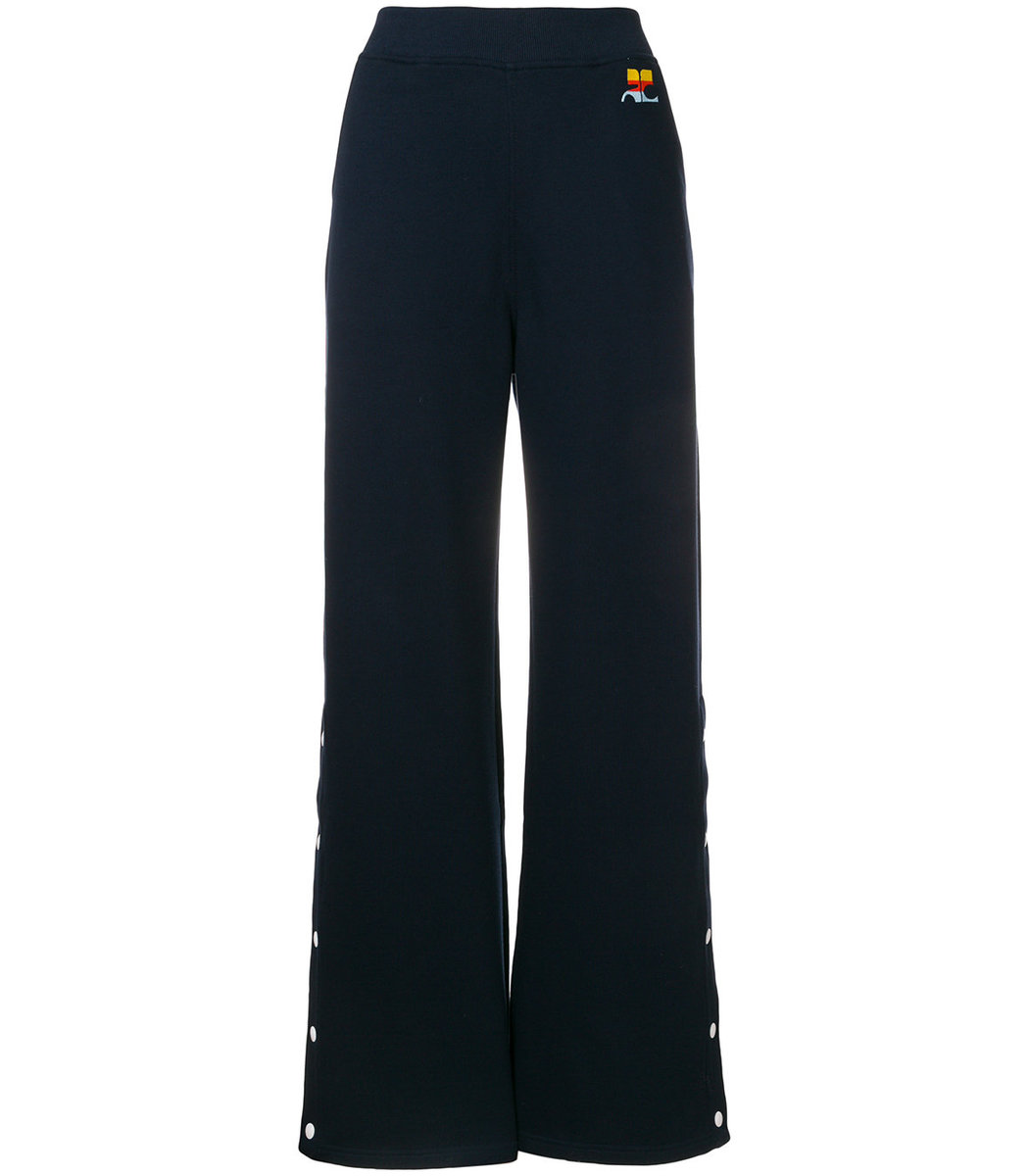 Courrèges Flared High-Waist Trousers