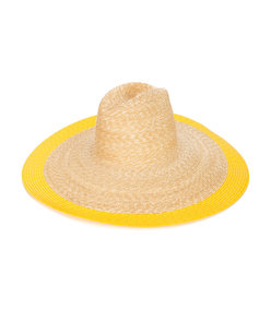 lemon mimi straw hat