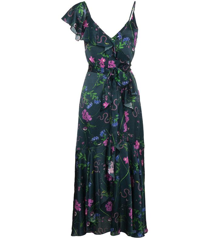 multicolor isadora floral dress