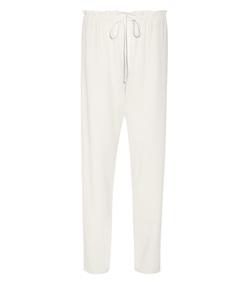 white paco straight leg pant