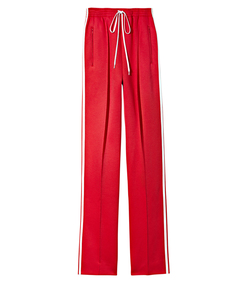 ShopBazaar Chloe Technical Jersey Track Pant MAIN