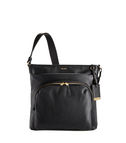 capri leather crossbody