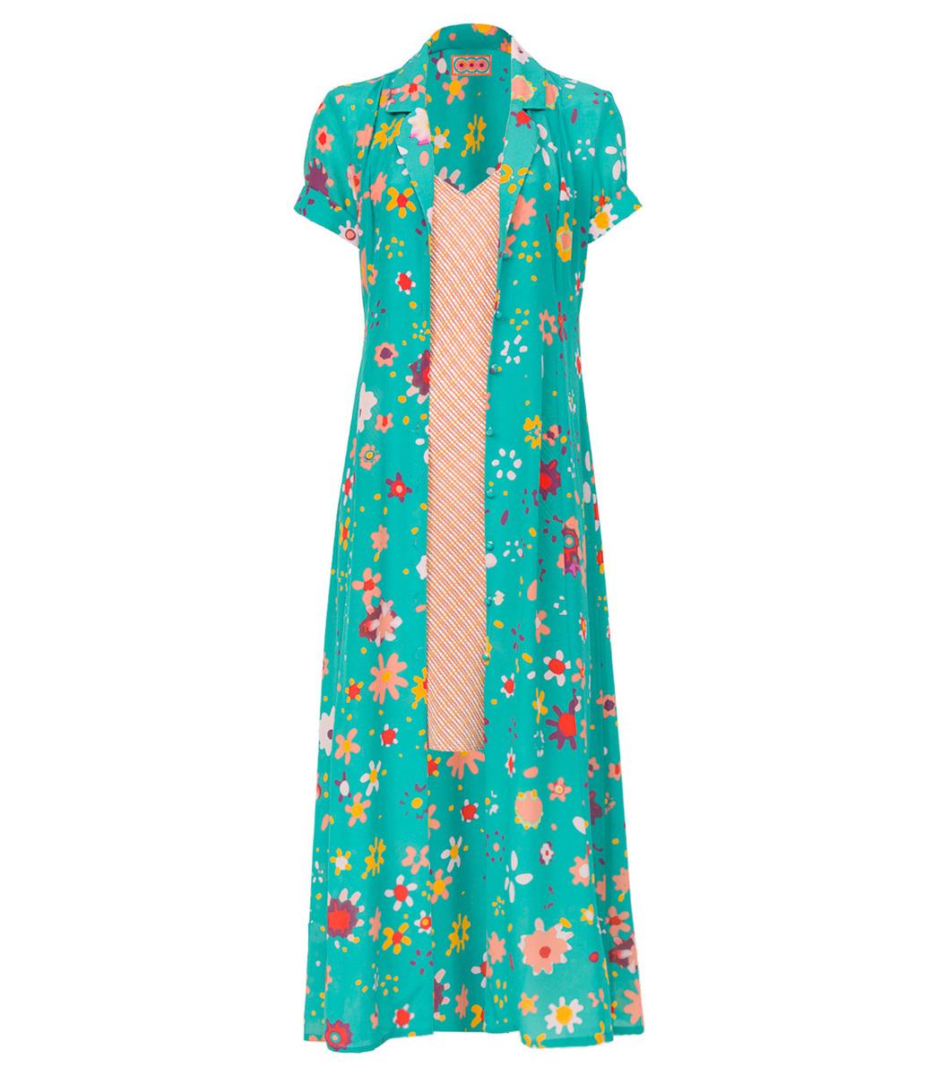 Lhd Multicolor Marlin Dress