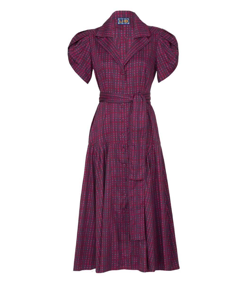 Lhd Red Glades Dress