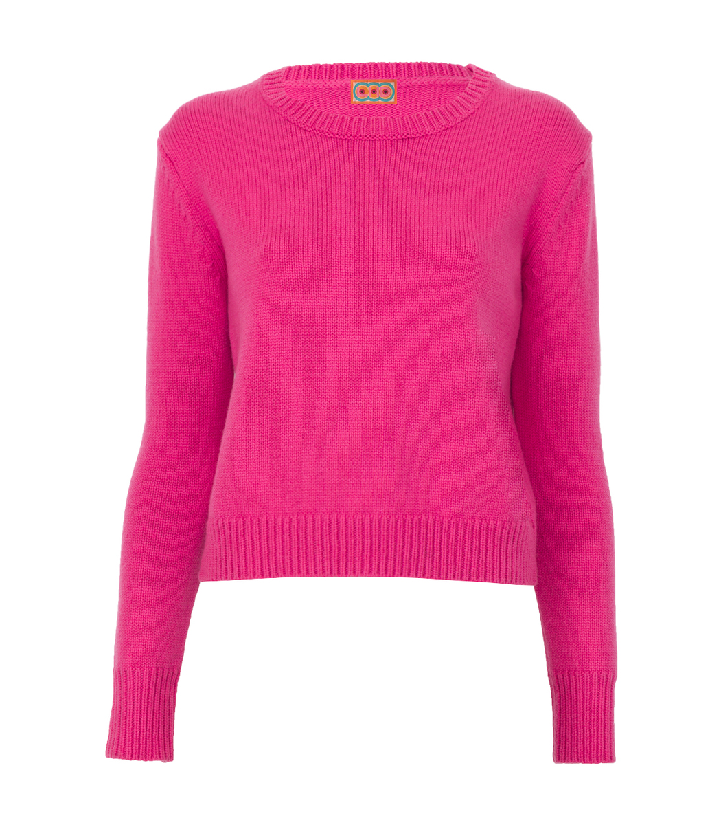 Lhd Pink North Shore Cashmere Sweater