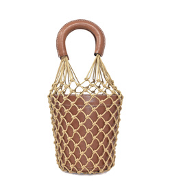 brown moreau bucket bag