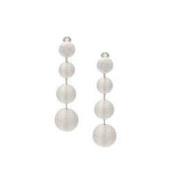 white 'les bonbon luna' earrings