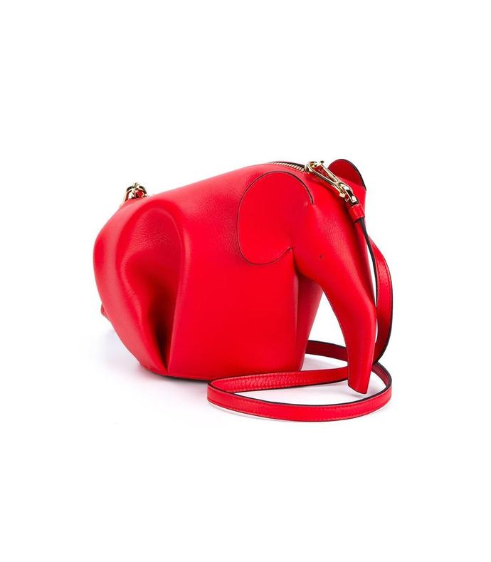 red 'elephant' mini bag