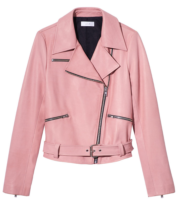 pastel pink duvall jacket
