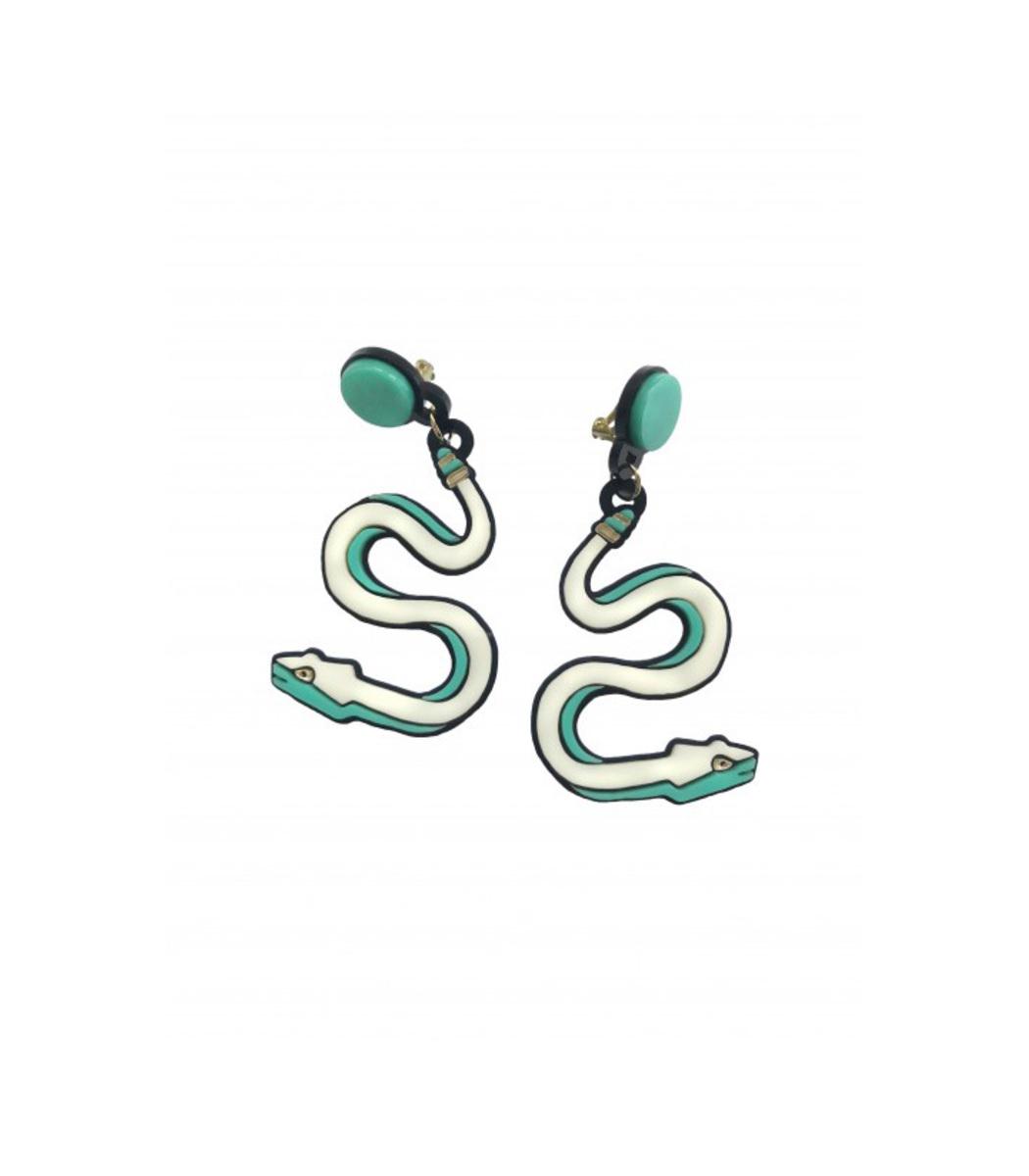 Yazbukey Cleopatra's Snake Earring