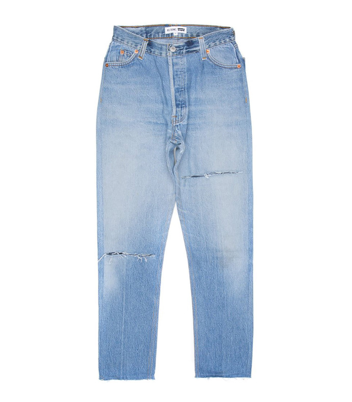 Blue High Rise Ankle Crop Jeans 2212124423013384231