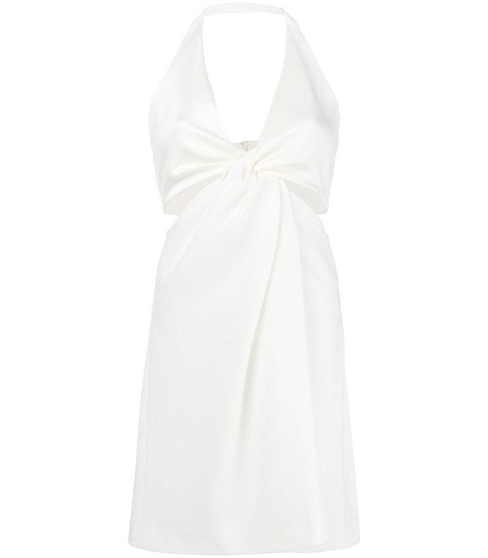 White Eclipse Mini Dress 2294859491421111838