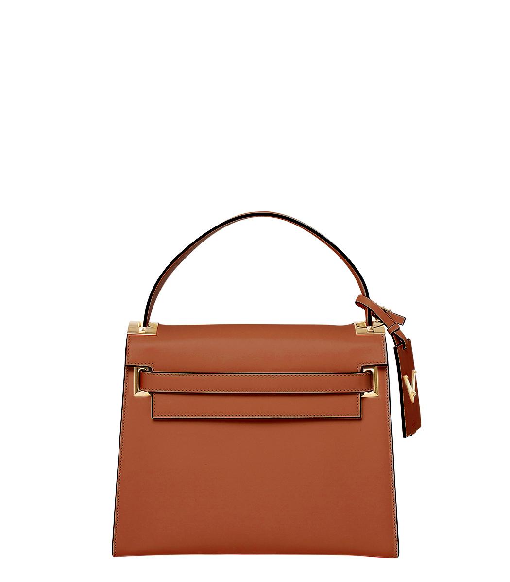 ShopBazaar Valentino Top-Handle Flap Satchel MAIN