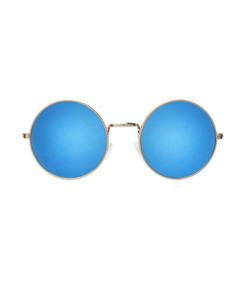 ShopBazaar Illesteva Blue Mirror Porto Cervo Sunglasses MAIN