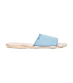 blue 'taygette' sandal