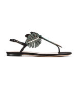 multicolor tropical dream flip flop sandal