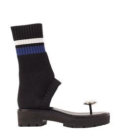 knitted sandal