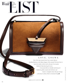 ShopBazaar Loewe Barcelona Shoulder Bag FRONT