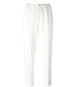 white cropped trouser