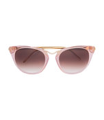 pink transparent sunglasses