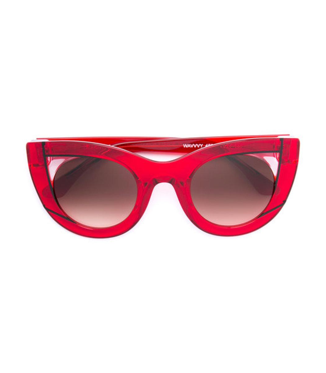 bb2e88f32e THIERRY LASRY Hedony Cat-Eye Acetate Sunglasses