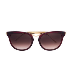 red 'chromaty' sunglasses
