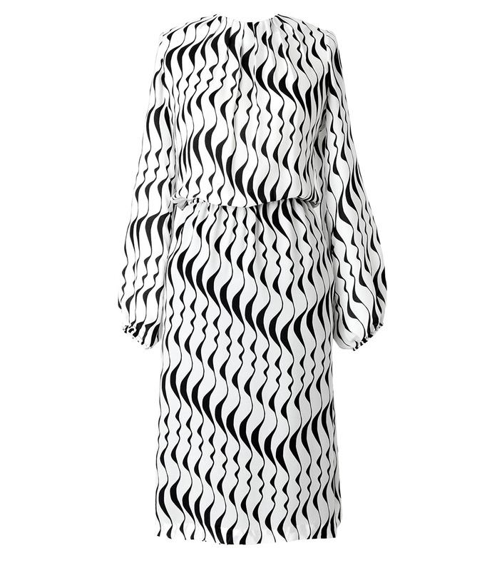 black & white 'francette' dress