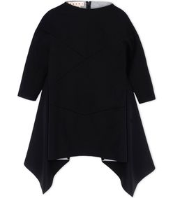 ShopBazaar Marni Black Neoprene Mini Dress MAIN