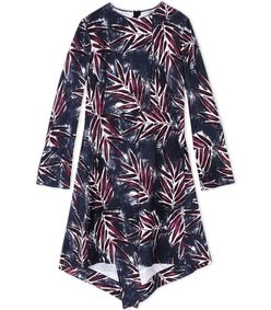 ShopBazaar Marni Silk Floral Printed Dress MAIN