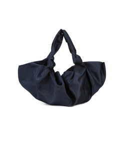 blue small ascot bag