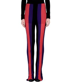 ShopBazaar Balmain High Waisted Stripe Pants FRONT