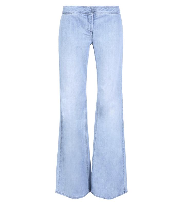 blue flare jean