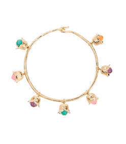 gold 'lily of the valley' bracelet