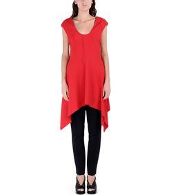 ShopBazaar Marni Asymmetric Tunic FRONT