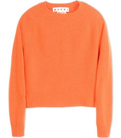 ShopBazaar Marni Orange Wool Sweater MAIN