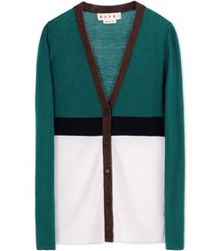 ShopBazaar Marni Color-Block Cardigan MAIN