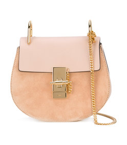 peach 'drew' shoulder bag