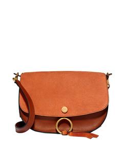 mustard brown 'kurtis' bag