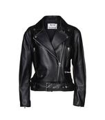 black 'merlyn' leather jacket