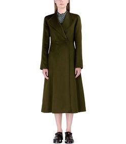 ShopBazaar Marni Wool & Cashmere Coat FRONT