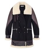 black 'ismir' coat