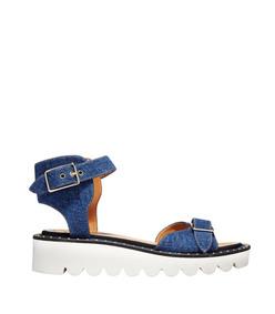 ShopBazaar Stella McCartney Denim 'Odette' Sandal MAIN