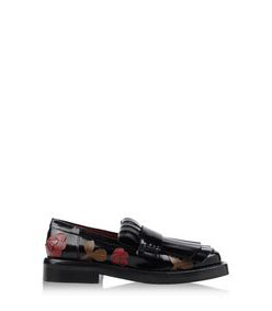 ShopBazaar Marni Floral Appliqué Patent Leather Brogue MAIN